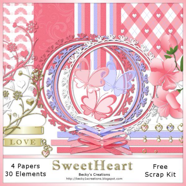 BeckyP's Creations: Scrap Kits