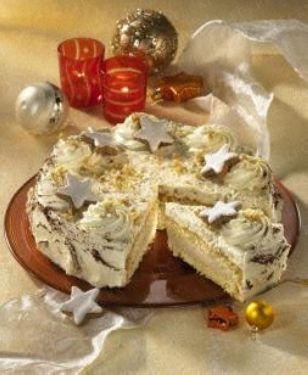 Baileys-Zimtsahne-Torte