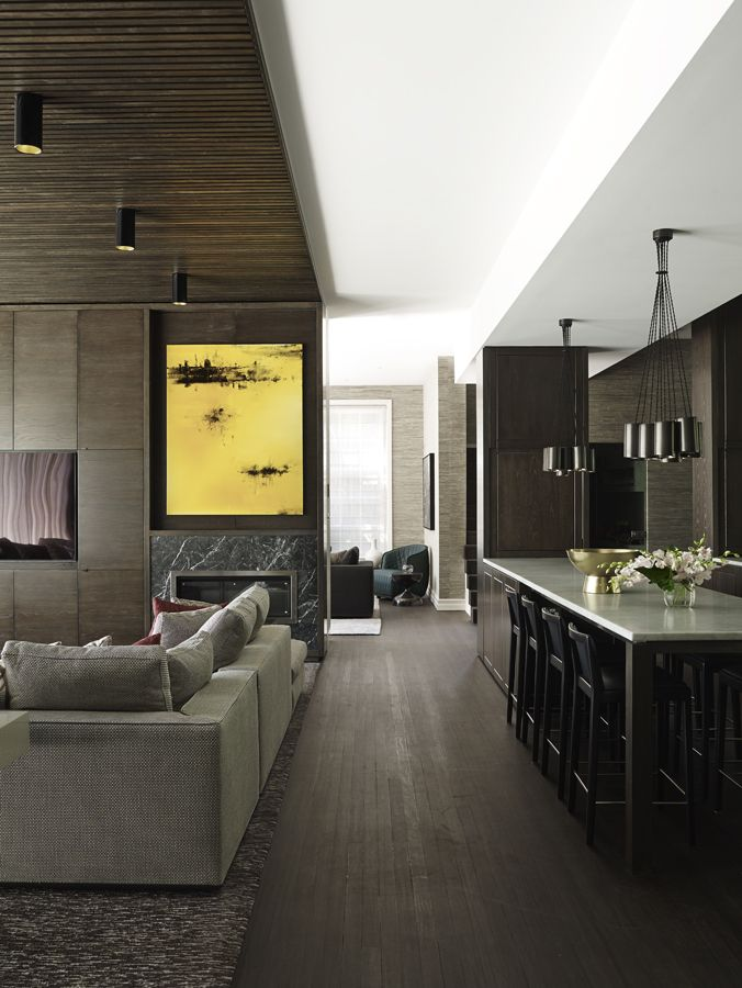 Designer Greg Natale Indulged His Love Of Dark Hues In The Sophisticated Interiors This Grand Melbourne Home