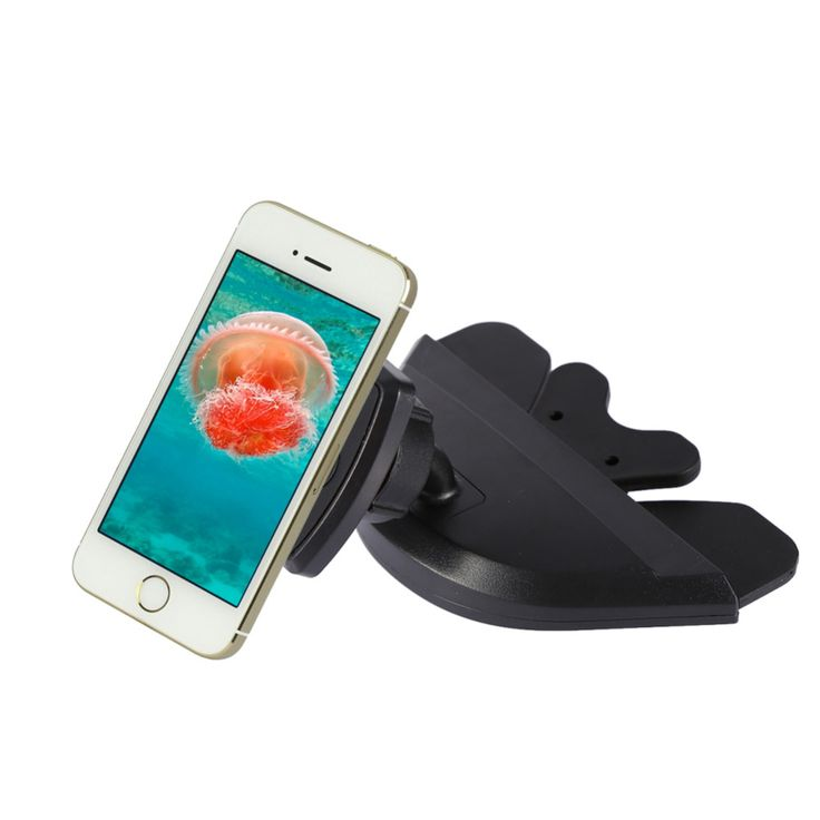 Universial Magnetic 360 Degree Rotating MountPhone Car Holder CD Slot Mount For iphone7/7s/6plus/5s Smartphone GPS