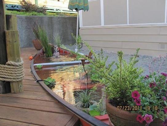 Pamela Makes Stuff: CANOE FOR SALE!