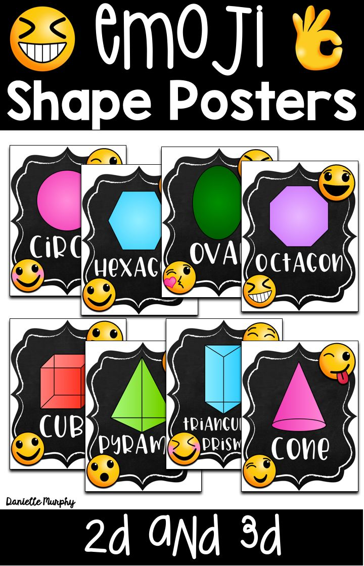 meet the shapes poster