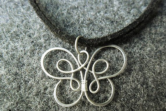stainless steel necklace  stainless steel wire by MakeMeStyle, $9.00