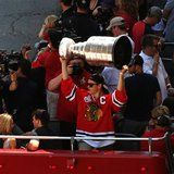 Blackhawks Stanley Cup Parade on Friday 6/28/2013.