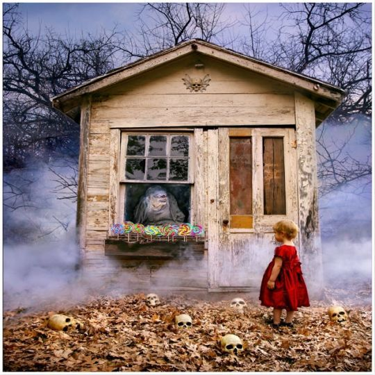 Obejrzyjcie, jeśli macie odwagę! Koszmary z dzieciństwa na zdjęciach