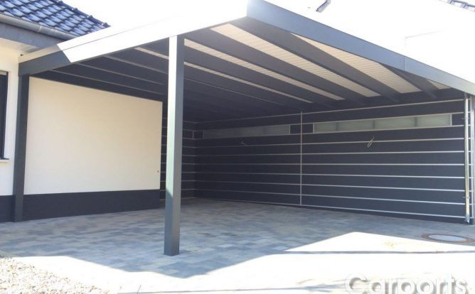 best 25 garage mit carport ideas on pinterest carport. Black Bedroom Furniture Sets. Home Design Ideas