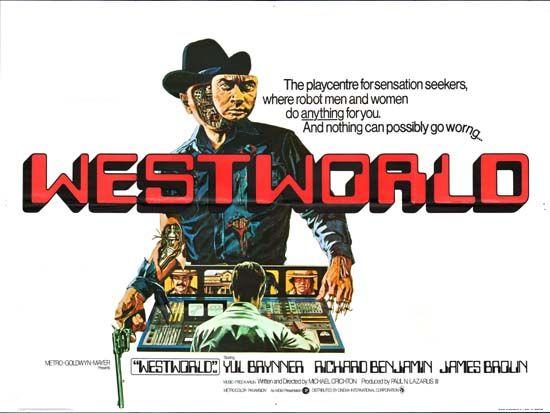 Westworld #movie #poster