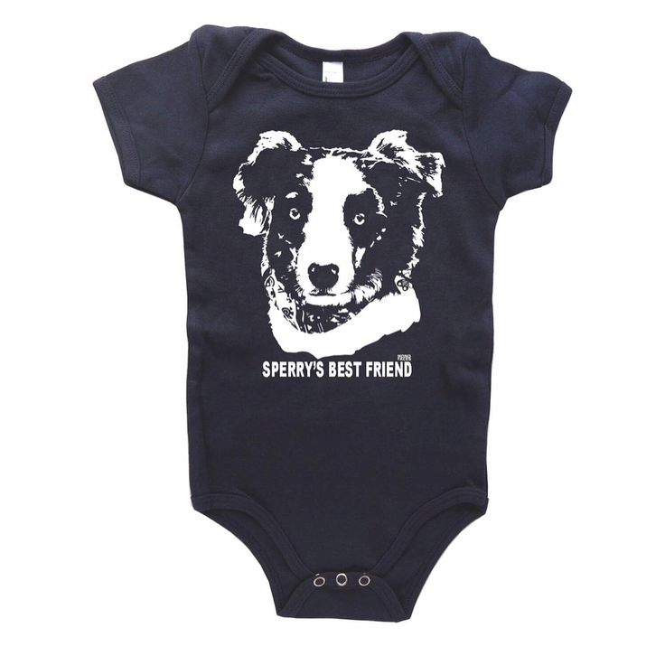 """""""Sperry's Best Friend"""" personalized baby onesie. Good to have best friend from the minute you're born!    #monofaces"""