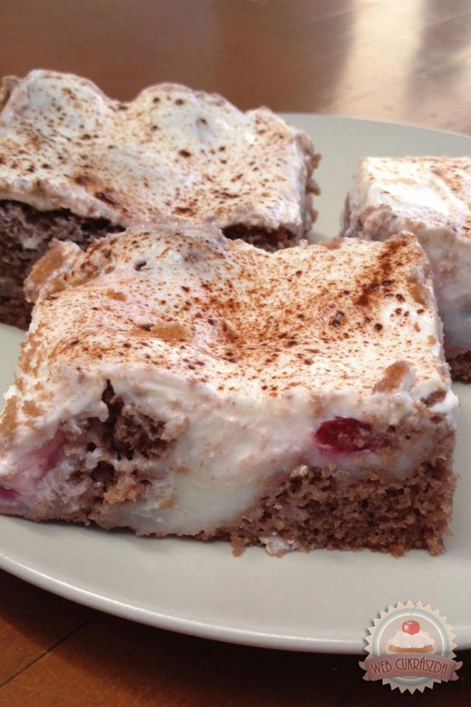 Pudingos-tejfölös süti Eta módra