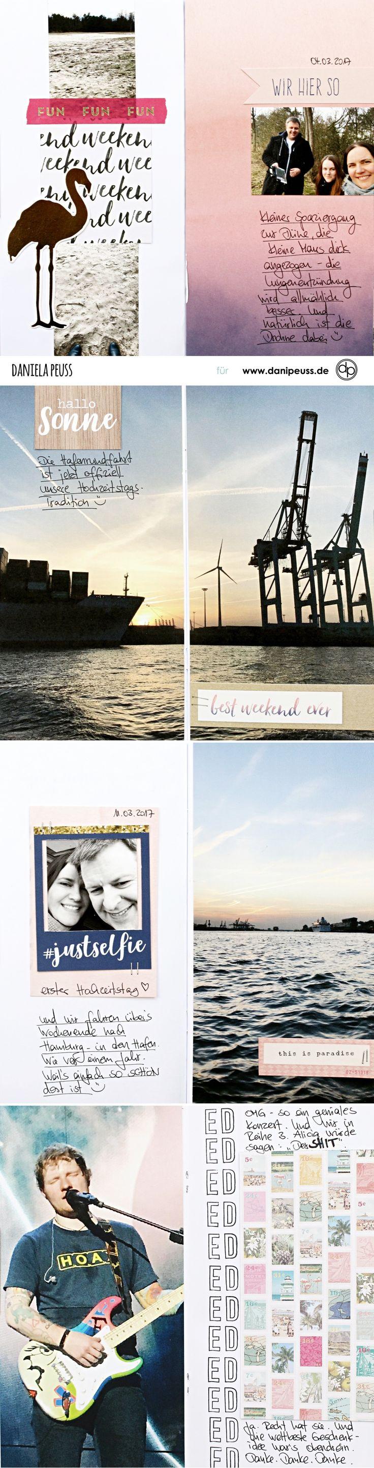 danidori Memory Notebook mit dem Aprilkit | von Dani für www.danipeuss.de