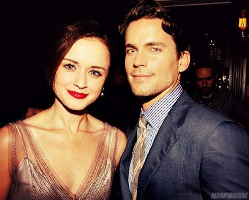 Alexis Bledel and Matt Bomer | Christian and Ana | Pinterest