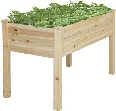 Easy to follow (with step by step pictures) directions for how to build your own elevated bed or raised garden bed.