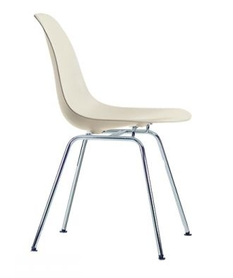 VITRA sedia Eames Plastic Side Chair DSX (Crema - Polipropilene) - MyAreaDesign.it