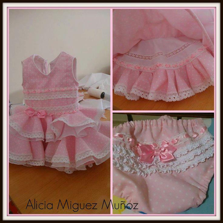 vestido de flamenca niña
