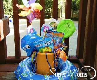 Fun in the Sun Easter Basket - This Fun in the Sun Easter Basket is great for kids who love the beach!