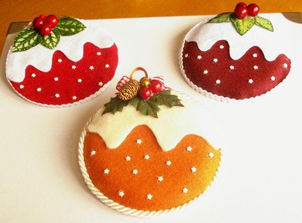 CD cupcakes realizzati per Natale.