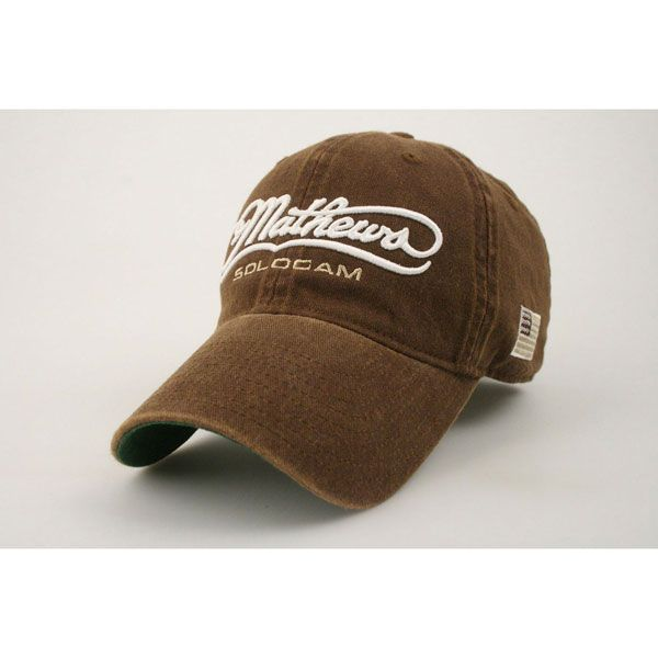 Mathews Old Favorite Adjustable Hat Brown