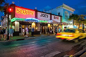 Sloppy Joe's in Key West - where we got engaged 16 years ago.  The greatest bar in the world!