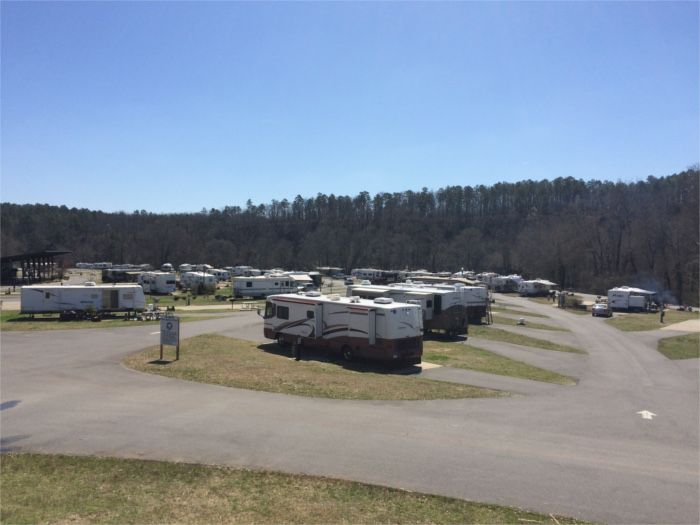 We Loved Staying At Catherines Landing RV Park Just Outside Hot Springs AR Beautiful