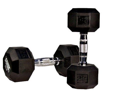 10 lb Rubber Coated Hex Dumbbell -- See this great product.