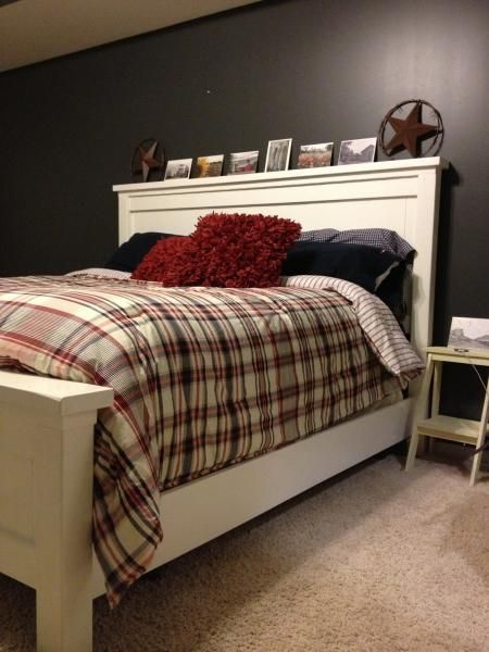 King size Farmhouse Bed | Do It Yourself Home Projects from Ana White
