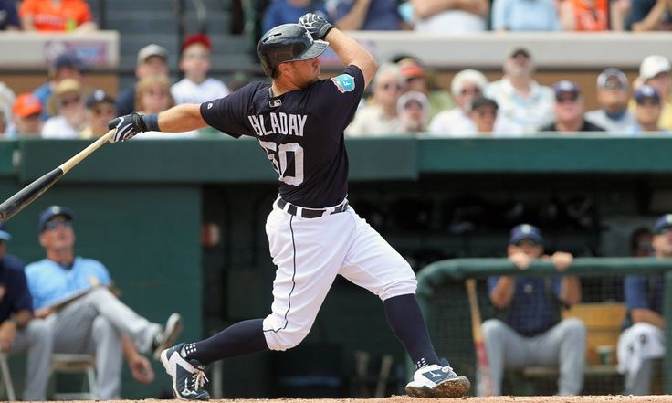 Tigers trade Bryan Holaday to Texas because of roster crunch = Bryan Holaday's thumb injury wasn't bad enough to extend his career in Detroit.  That's why he is now a Texas Ranger.  Holaday was hitting .438/.455/.969 this spring, but unless his recent injury had been.....