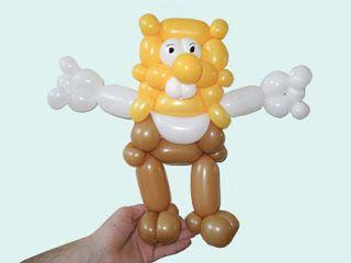 Губка Боб (Спанч Боб) 2 Как Сделать Скульптурку из ШДМ
