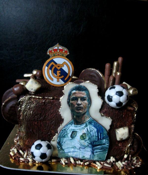 FC Brcelona cake