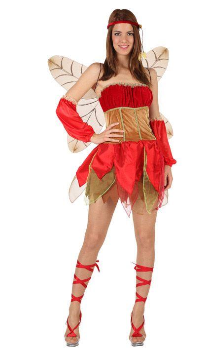 Disfraz de hada de otoño sexy para mujer: Este disfraz de hada de otoño para…
