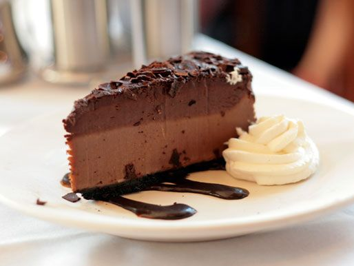 Marshall Field's Frango Mint Cheesecake