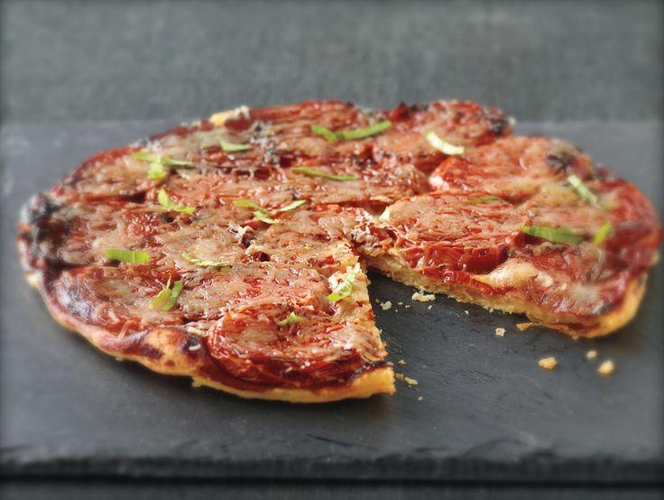 Tomato Cheese Tarte Tatin