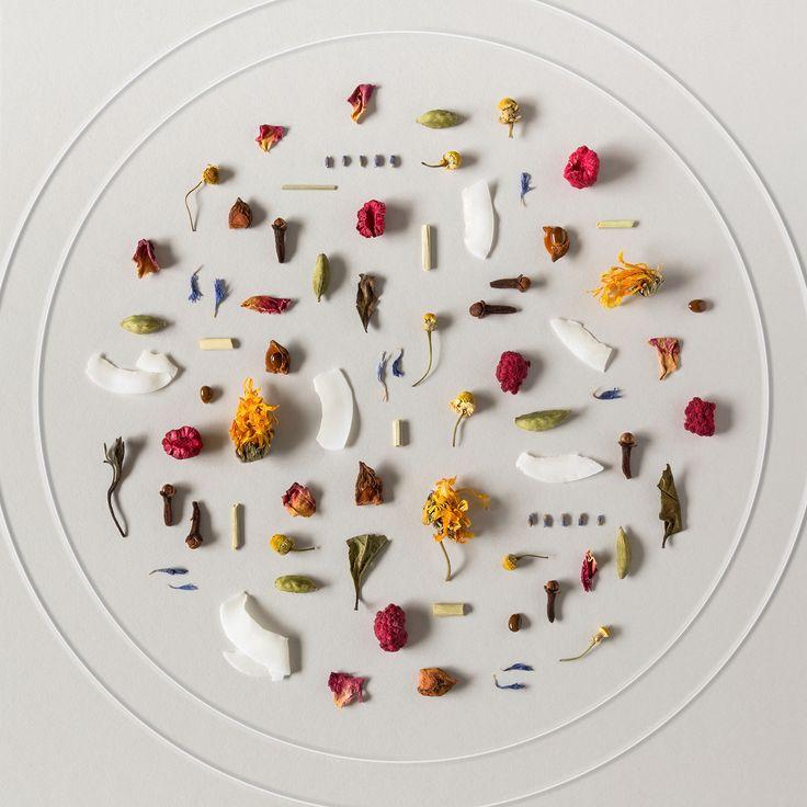 ingredients flaylay By Karina Sharpe for The Rabbit Hole Organic Tea Bar