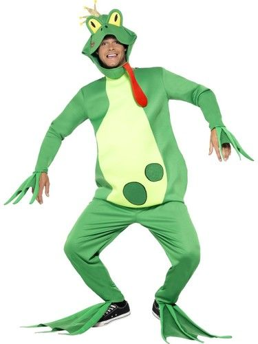 Frog Prince Adult Costume. Perfect frog costume or animal costume. Nest day delivery from Sydney Australia