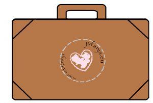 Kleikaarten koffer: vul de koffer met de juiste hoeveelheid voorwerpen van klei.