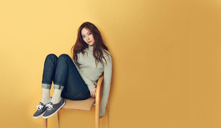 f(x)'s Krystal Models For Sneaker Brand 'Keds' – Kpopfans