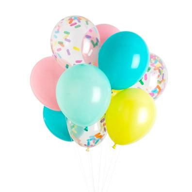 Fun and fancy celebrations can still be easy when the colors are already chosen for you! This ice cream classic balloon pack is perfectly coordinated and ready