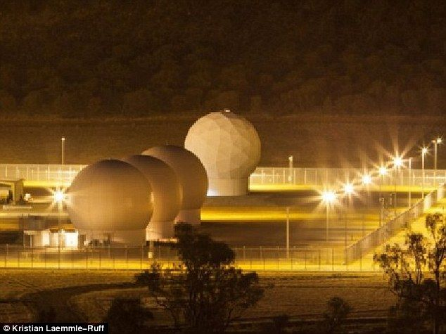 Pine Gap (pictured) is Australia's top secret spy base that you may have heard of, but know nothing about