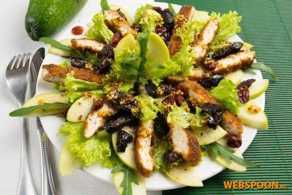 Восхитительный грузинский салат с курицей съедается в момент
