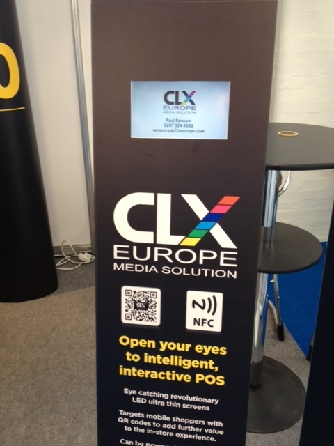 CLX Interactive totem with touch screen and Proximity WIFI -Fully branded, standalone units with embedded video and the option of internet connectivity will transform your conference, shop floor, launch party or signature event from mundane mingling into an electric experience Our wafer thin LED screens complete with stand and customized printing make CLX units the cheapest video units currently available in the UK. Full QR, NFC and WiFI connectivity can transmit targeted offers or…