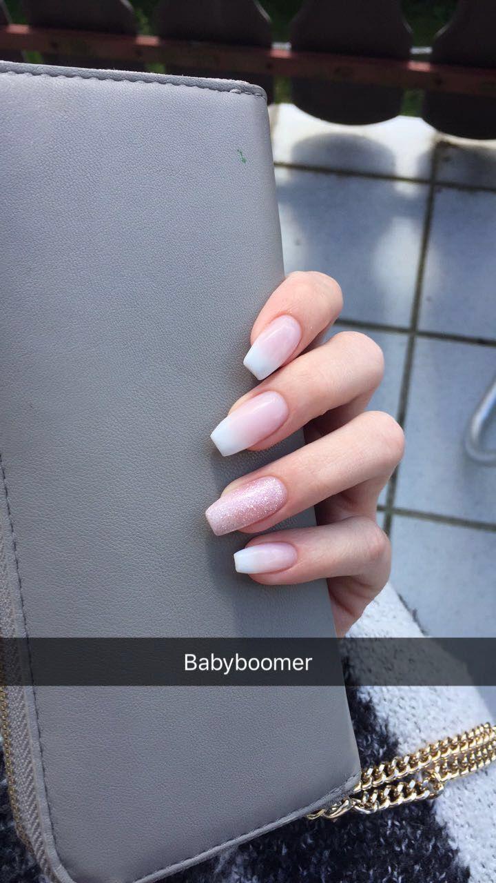 #babyboomer #nails #ballerina – Nails gel nails – #Babyboomer #Ballerina – Nagel