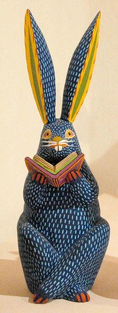 #Alebrijes de #Oaxaca // #Conejo #Rabbit #arte #tradicional #artisan