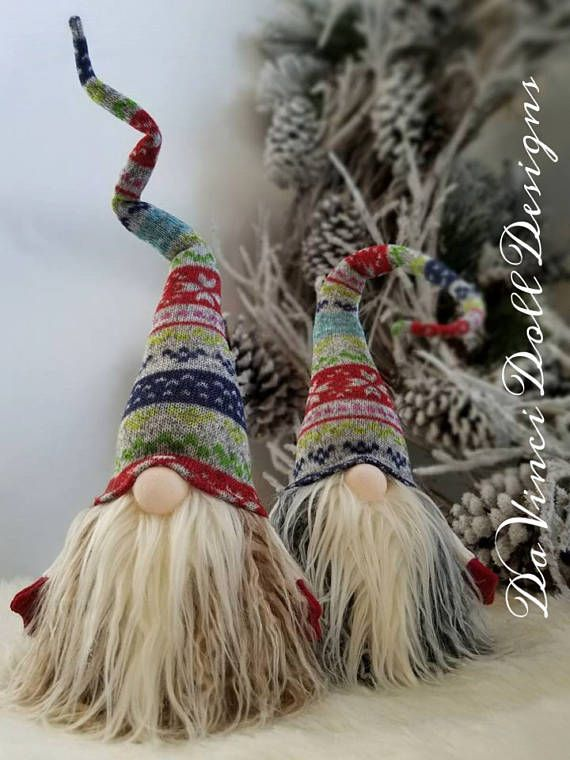 Tomte Nisse nórdico Gnome Santa decoración Navidad colección