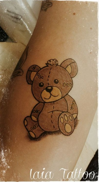 12 Lovable Teddy Bear Tattoos