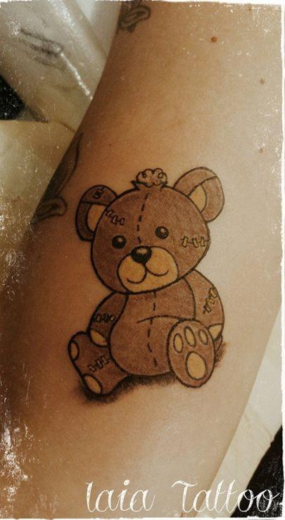 12 Lovable Teddy Bear Tattoos