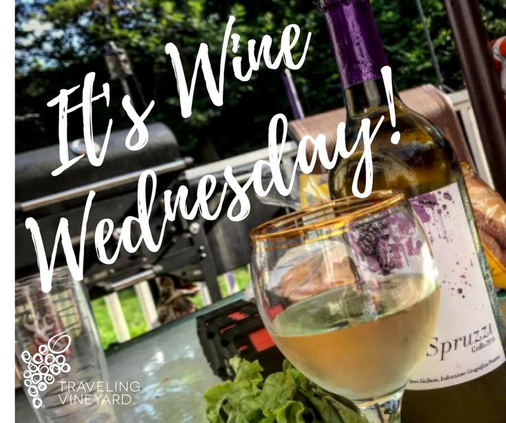 Cheers to Wine Wednesday! Traveling Vineyard can help keep you in stock so you're always ready for your favorite day of the week!