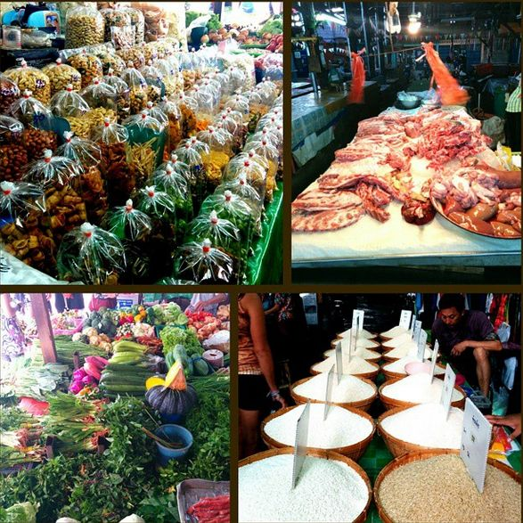 So, Upaasna decided to try her hand at cooking some #traditional Thai #cuisine. At the #market, she was spoiled for choice! All the fresh ingredients made #cooking sound more exciting!
