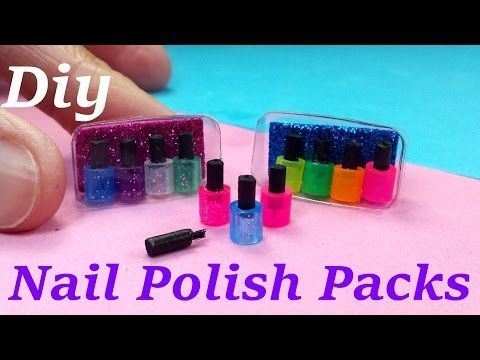 DIY Miniatura productos de cuidado corporal Tutorial - Petit Palm - YouTube