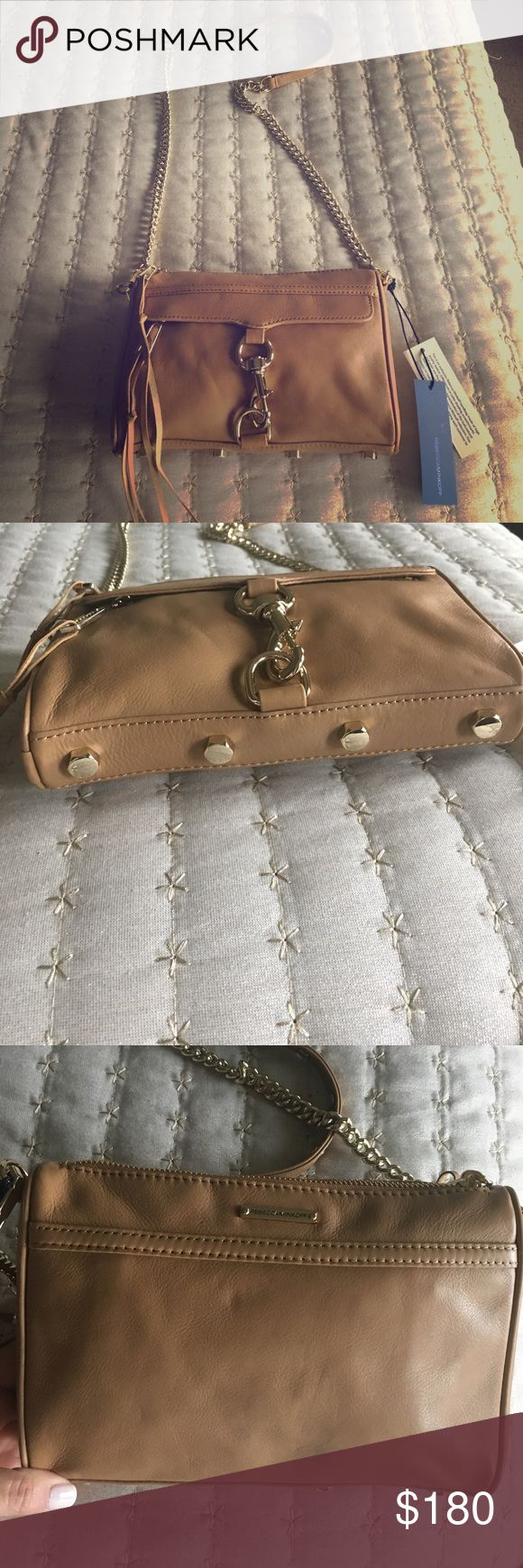 Rebecca Minkoff Mini Mac Cross-body Bag This chic and trendy style is a must-have! Includes dustbag & extra leather pulls for the zippers. Purchased from Nordstrom. Rebecca Minkoff Bags Crossbody Bags