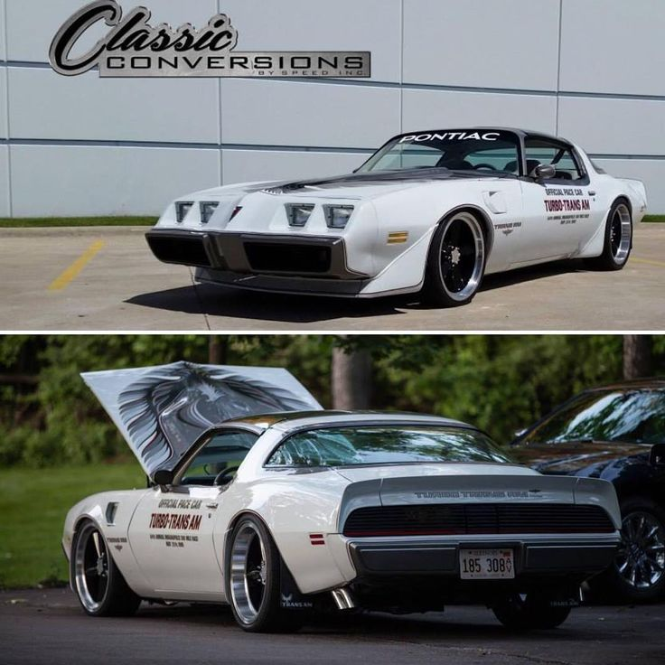 """114 Likes, 16 Comments - Classic Conversions Speed Inc (@classicconversionsusa) on Instagram: """"Our shop's Trans Am 4.9 Turbo Pace Car! #ClassicConversions #SpeedInc #SpeedIncUSA"""""""