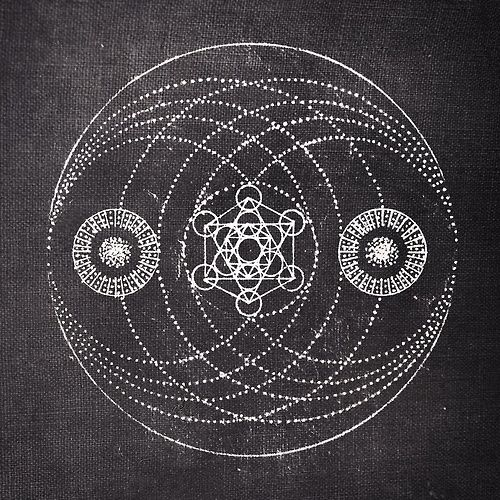 sacred geometry | black & white illustration | mandala design | magick | esoteric | occult wisdom | mystery schools | sigils & symbolism